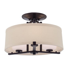 Minka-Lavery 4499-298 - 3 Light Semi Flush Mount