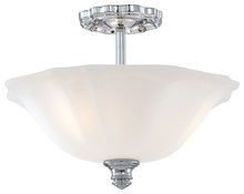 Minka-Lavery 6597-77 - Felice Bath 2012 Semi-Flush 3 Light