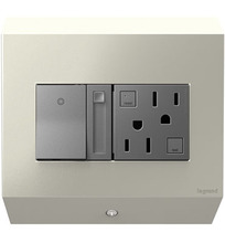 Legrand APCB6TM2 - Control Box with Paddle Dimmer and 15A GFCI