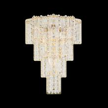 Schonbek 2673-211 - Jubilee 4 Light 110V Wall Sconce in Rich Auerelia Gold with Clear Gemcut Crystal