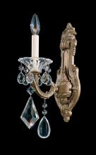 Schonbek 5069-27 - La Scala 1 Light 110V Wall Sconce in Parchment Gold with Clear Heritage Crystal