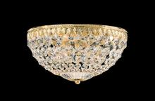 Schonbek 1560-40A - Petit Crystal 4 Light 110V Close to Ceiling in Silver with Clear Spectra Crystal