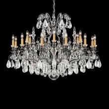 Schonbek 3592-26AD - Renaissance Rock Crystal 19 Light 110V Chandelier in French Gold with Amethyst And Black Diamond Roc