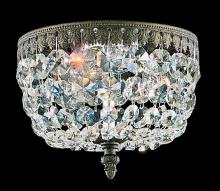 Schonbek 5038-76A - Rialto 3 Light 110V Close to Ceiling in Heirloom Bronze with Clear Spectra Crystal