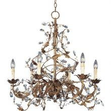 Maxim 2851EG - Elegante-Single-Tier Chandelier