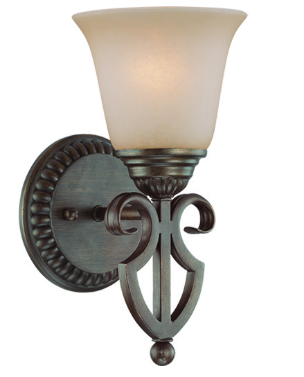 Gatewick 1 Light Wall Sconce in Century Bronze