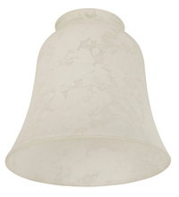 "Craftmade 195 - 2 1/4"" Fan Glass, Bell Shaped in Alabaster Frost"