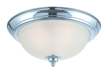 Craftmade 20015-CH - 3 Light Flushmount in Chrome