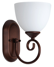 Craftmade 25301-OB-WG - Raleigh 1 Light Wall Sconce in Old Bronze