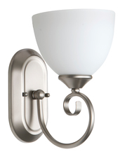 Craftmade 25301-SN-WG - Raleigh 1 Light Wall Sconce in Satin Nickel