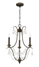 Craftmade 41123-LB - Lilith 3 Light Chandelier in Legacy Brass