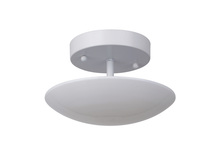 Craftmade 42950-W-LED - Echo 1 Light LED Semi Flush in White