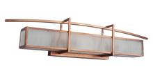 Craftmade 46001-BCP - Kodo 3 Light Vanity in Brushed Copper
