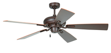 "Craftmade BLV54OBG5 - Boulevard 54"" Ceiling Fan with Blades in Oiled Bronze Gilded"