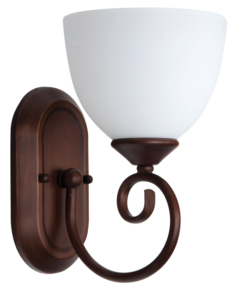 Raleigh 1 Light Wall Sconce in Old Bronze