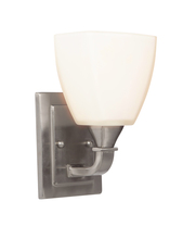 Jeremiah 16906BNK1 - Lawton 1 Light Wall Sconce in Brushed Polished Nickel