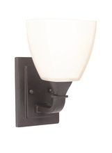 Jeremiah 16906ESP1 - Lawton 1 Light Wall Sconce in Espresso
