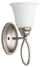 Jeremiah 25001-SN-WG - Cordova 1 Light Wall Sconce in Satin Nickel