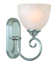 Jeremiah 25301-SN - Raleigh 1 Light Wall Sconce in Satin Nickel