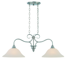 Jeremiah 26322-SN - Linden Lane 2 Light Island in Satin Nickel