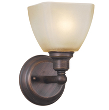 Jeremiah 26601-BZ - Bradley 1 Light Wall Sconce in Bronze