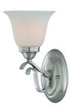 Jeremiah 29001-BNK - McKinney 1 Light Wall Sconce in Brushed Polished Nickel