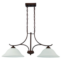 Jeremiah 38272-OB - Arabella 2 Light Island in Old Bronze