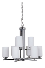 Jeremiah 39729-CH - Albany 9 Light Chandelier in Chrome
