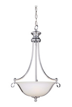 Jeremiah 39843-CH - Chelsea 3 Light Inverted Pendant in Chrome