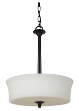 Jeremiah 41743-OB - Helena 3 Light Inverted Pendant in Oiled Bronze