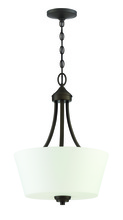 Jeremiah 41943-ESP - Grace 3 Light Inverted Pendant in Espresso
