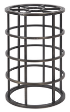 Jeremiah CG100-ABZ - Design-A-Fixture Mini Pendant Cage in Aged Bronze