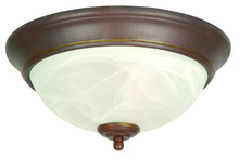 Jeremiah X211-AG - 2 Light Flushmount in Aged Bronze