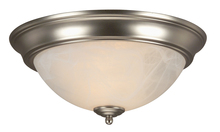 Jeremiah X213-BN - 2 Light Flushmount in Brushed Satin Nickel