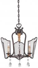 Minka Metropolitan N7110-258B - Cortona - Three Light Mini Chandelier