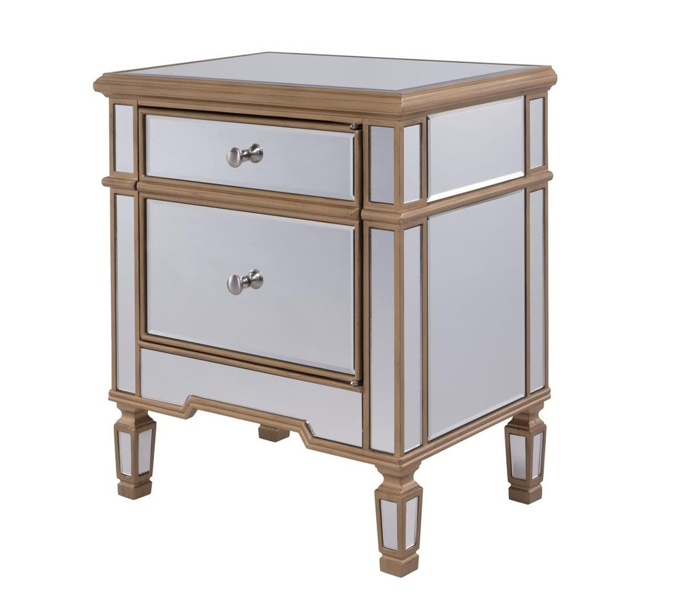 1 Door Cabinet 24 in. x 16 in. x 27 in. in Gold paint