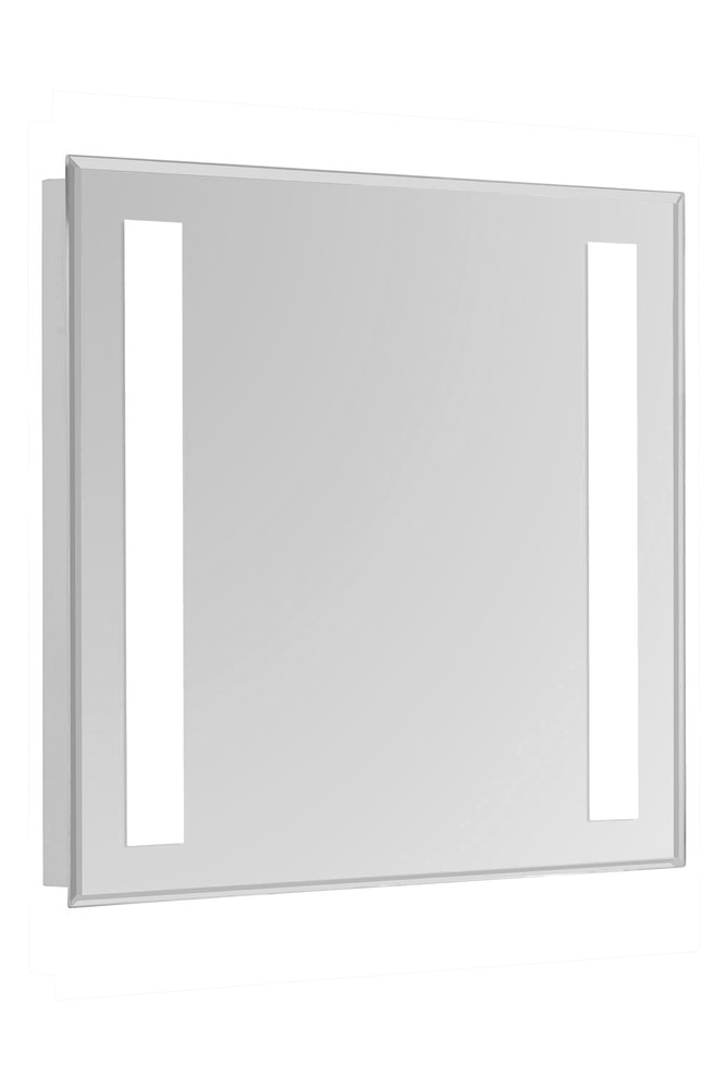 "2 Sides LED  Electric Mirror Rectangle W20""H30"" Dimmable 5000K"