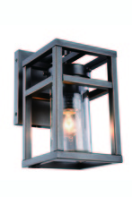 Elegant 1443W5BZ - 1443 Bianca Collection Wall Sconce D:5in H:10in E:7.5in Lt:1 Bronze Finish