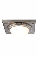 Elegant 1446F12VN - 1446 Cilla Collection Flush mount D:12.5in H:4.5in Lt:2 Vintage Nickel Finish