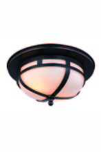 Elegant 1478F11BZ - 1478 Bella Collection Flush Mount D:11in H:5in Lt:2 Bronze Finish