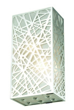 Elegant 2078W6C/RC - 2078 Prism Collection Wall Sconce L:6in W:4in H:12in Lt:2 Chrome Finish (Royal Cut Crystals)
