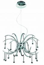 Elegant 2093D24C/RC - 2093 Hydra Collection Hanging Fixture  W24in H18in Lt:20 Chrome Finish  (Royal Cut Crystals)