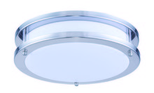 Elegant CF3200 - LED DOUBLE RING CEILING FLUSH, 3000K, 120�, CRI80, ETL/FCC, 15W, 75W EQUIVALENT, 50000HRS, LM1050, D
