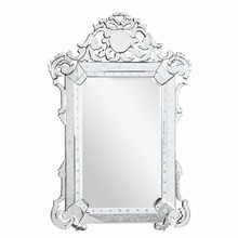 Elegant MR-2016C - Venetian 39.5 in. Transitional Mirror in Clear