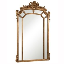 Elegant MR-3344 - Antique 30 in. Contemporary Mirror in Antique gold leaf