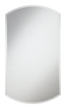 Elegant MR-4016 - Modern 22 in. Contemporary Mirror in Clear