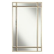 Elegant MR1-1001GC - Florentine 22 in. Traditional Mirror in Gold leaf