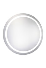 "Elegant MRE-6006 - LED Electric Mirror Round D36"" Dimmable 5000K"