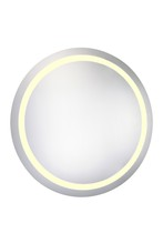 "Elegant MRE-6016 - LED Electric Mirror Round D36"" Dimmable 3000K"