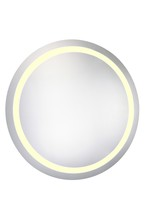 "Elegant MRE-6017 - LED Electric Mirror Round D42"" Dimmable 3000K"